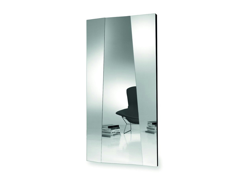 Wall-mounted rectangular mirror AUTOSTIMA - T.D. Tonelli Design