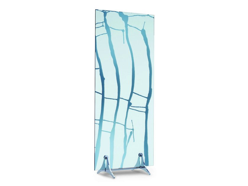 Mirrored glass room divider DECO 1 E DECO 2 - T.D. Tonelli Design