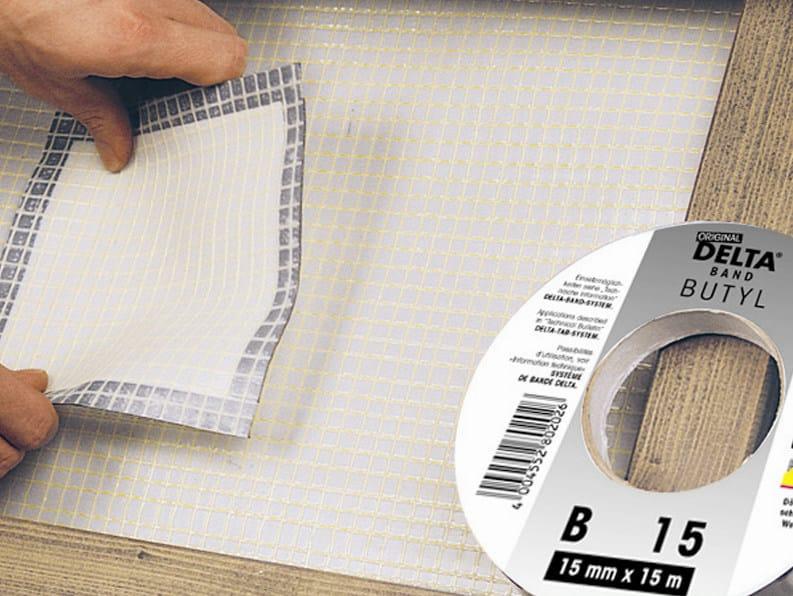 Fixing tape and adhesive DELTA® BUTYL - BAND - DÖRKEN ITALIA