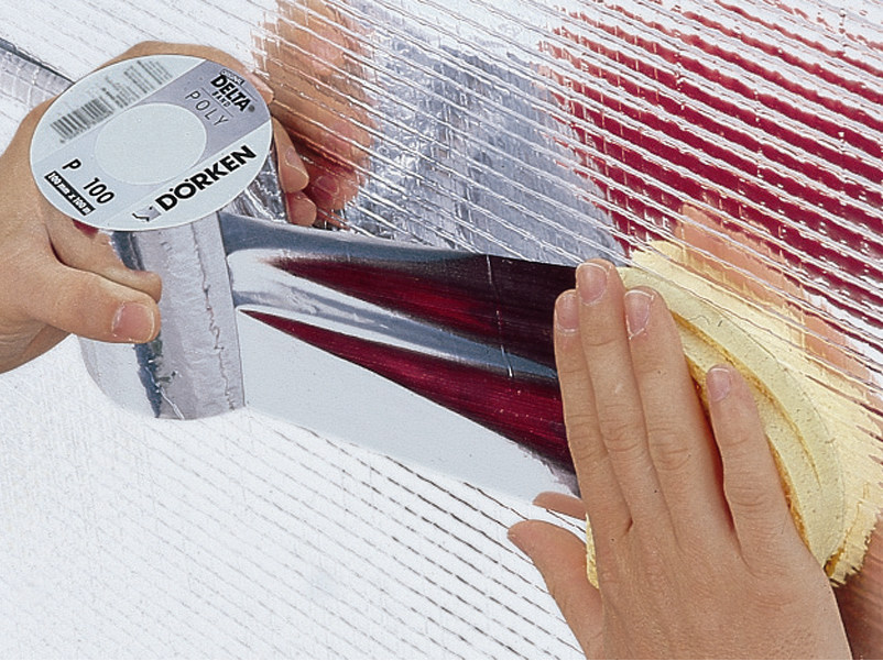 Fixing tape and adhesive DELTA® POLY - BAND by DÖRKEN ITALIA