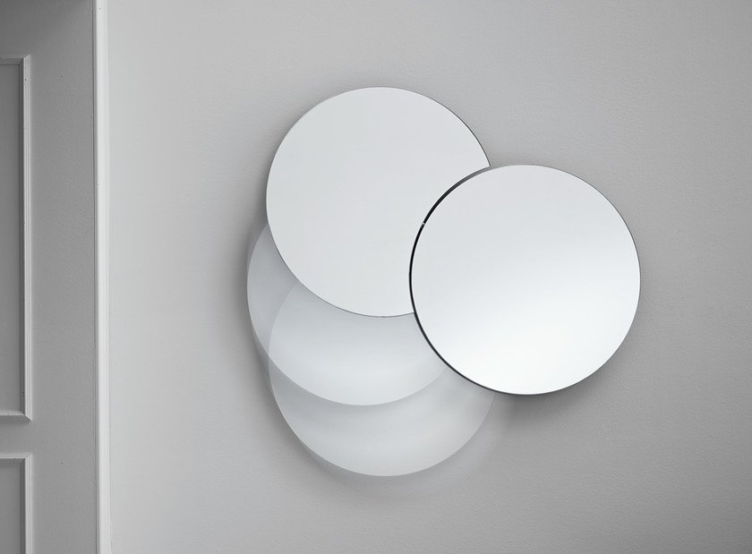 Wall-mounted mirror SHIKI - T.D. Tonelli Design