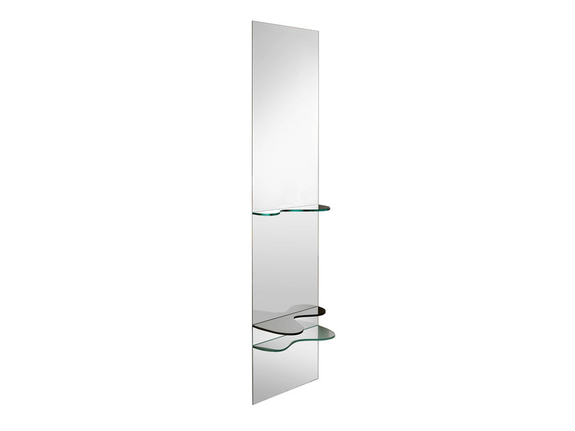 Wall-mounted rectangular mirror SILL - T.D. Tonelli Design