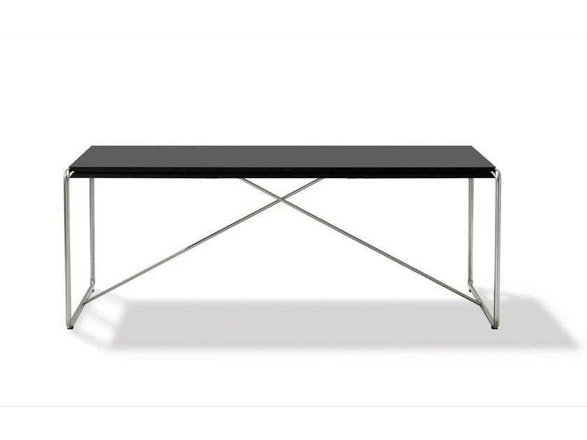 Extending rectangular table HAUGESEN - FREDERICIA FURNITURE