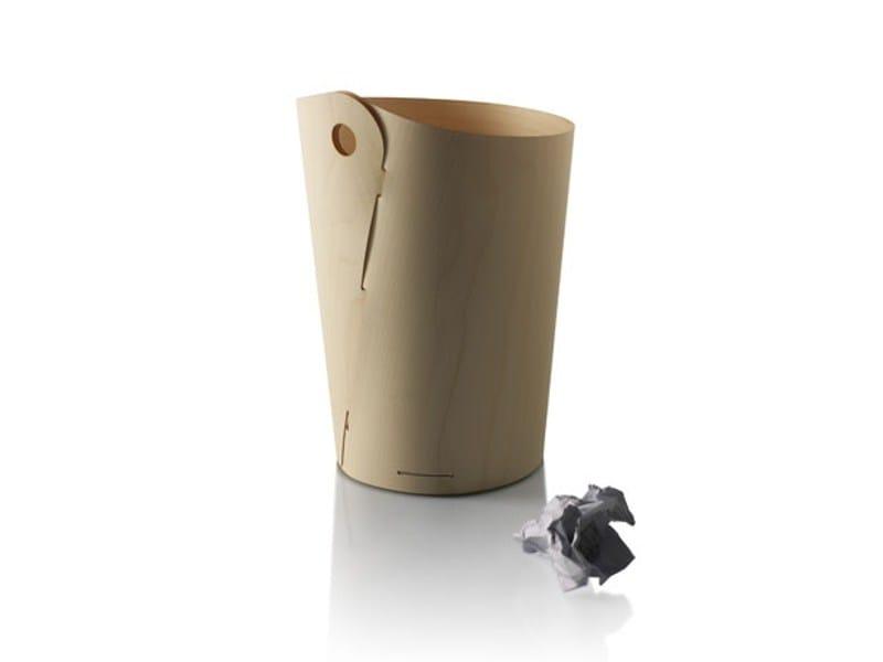 Maple waste paper bin DOVE by Zilio A&C