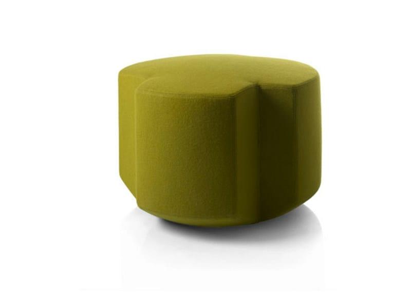 Upholstered polyurethane pouf LAND - Zilio Aldo & C.