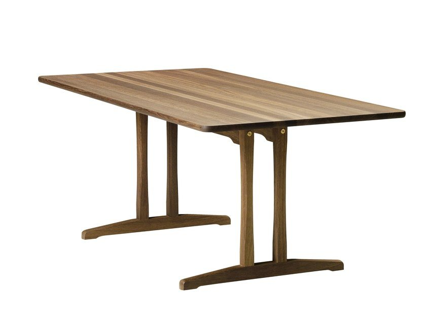 Rectangular dining table C18 | Table - FREDERICIA FURNITURE