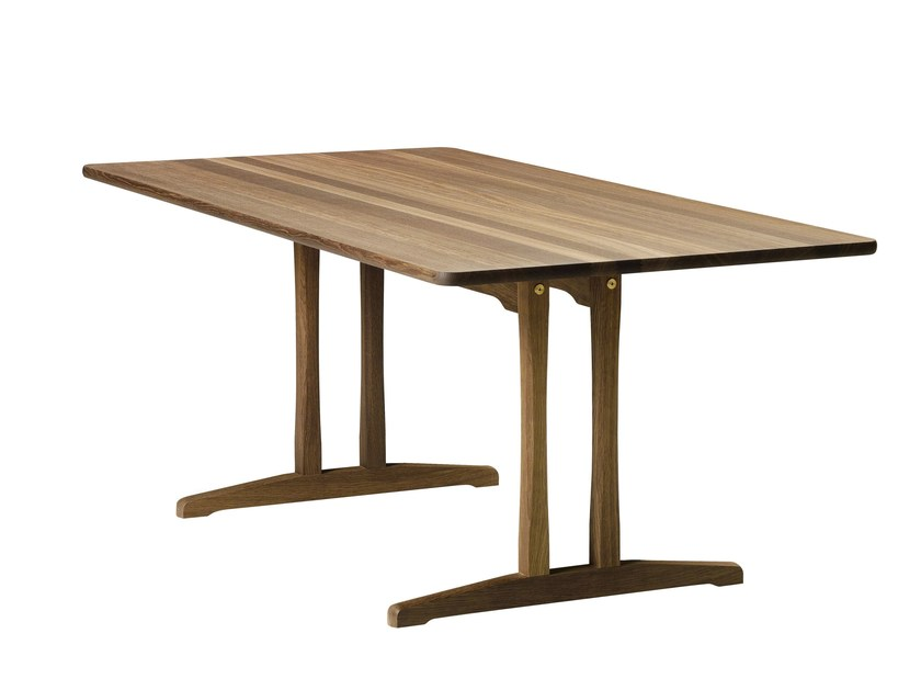 Rectangular dining table C18 | Table by FREDERICIA FURNITURE