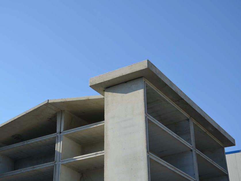 Precast reinforced concrete vaults Ossuary - F.LLI ABAGNALE