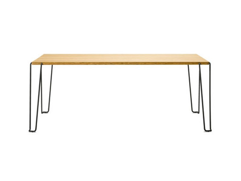 Rectangular wooden table GRAF by FREDERICIA FURNITURE
