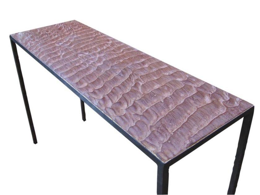 Rectangular iron console table ARENA CONSOLA - ICI ET LÀ