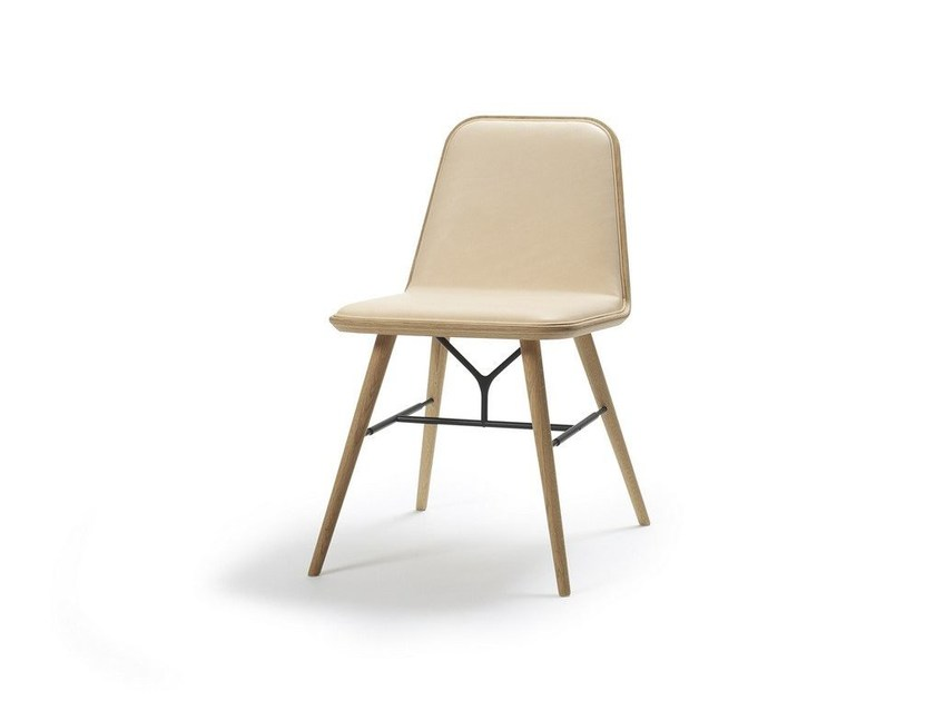 Upholstered chair SPINE | Chair - FREDERICIA FURNITURE