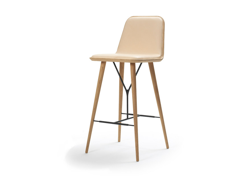 High barstool SPINE | Barstool - FREDERICIA FURNITURE