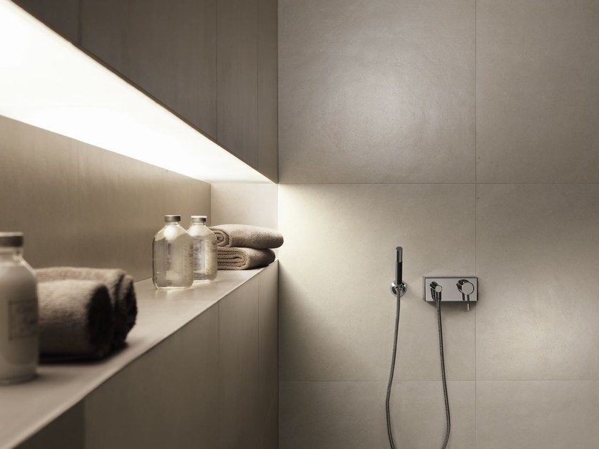 Porcelain stoneware wall tiles with stone effect BASE | Wall tiles - FAP ceramiche