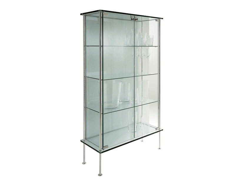 Glass display cabinet SHINE by Tonelli Design