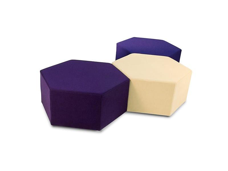 Fabric pouf ESA - B-LINE