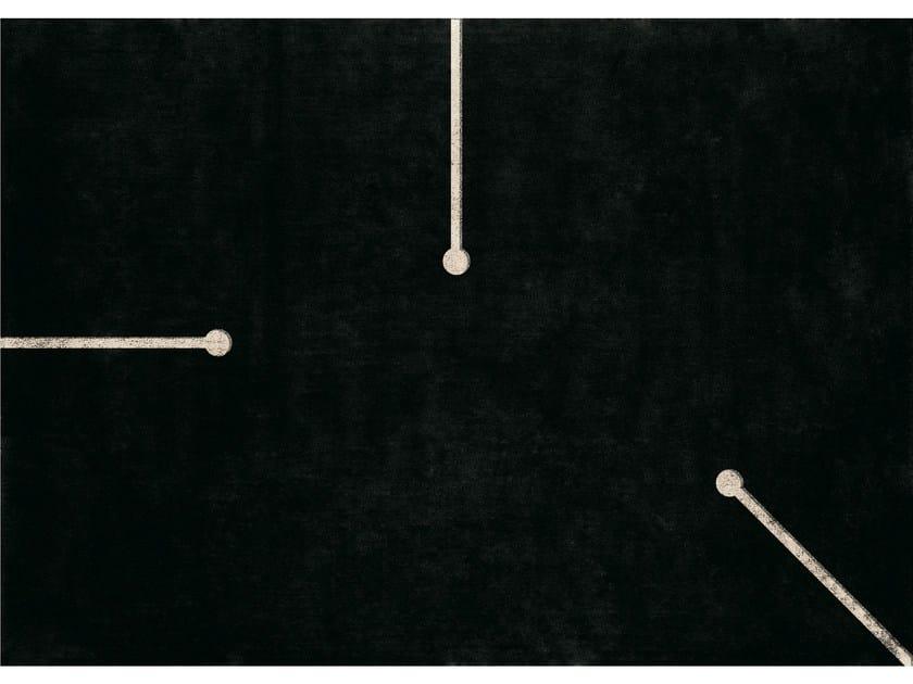 Rectangular wool rug FIUMI - NOW CARPETS