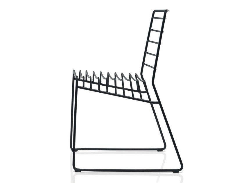 Stackable steel chair PARK - B-LINE