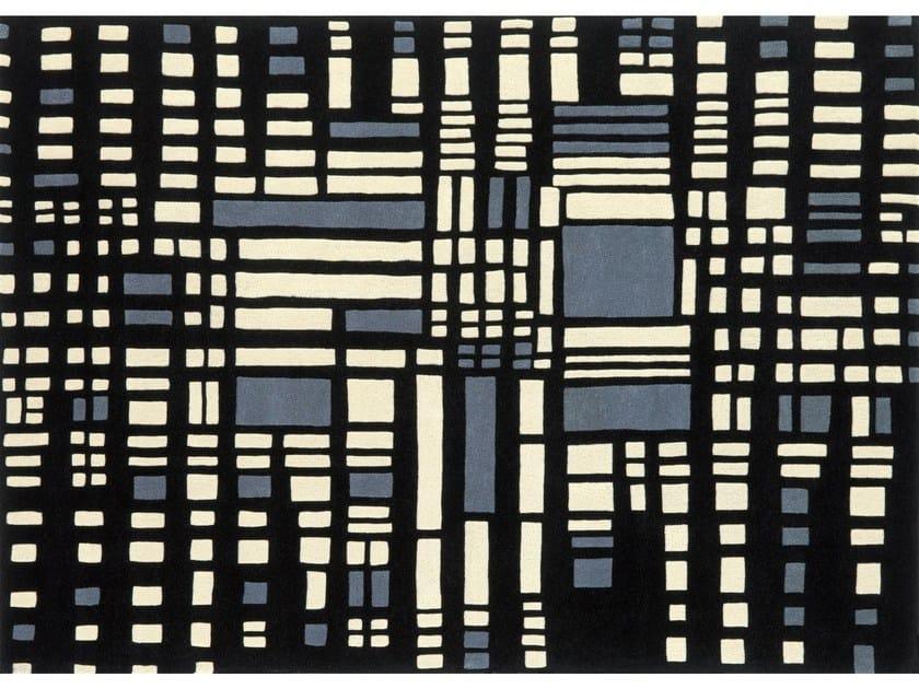 Rectangular wool rug URBAN - NOW CARPETS