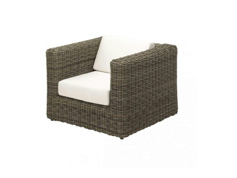 Club wicker garden armchair HAVANA | Garden armchair by Gloster