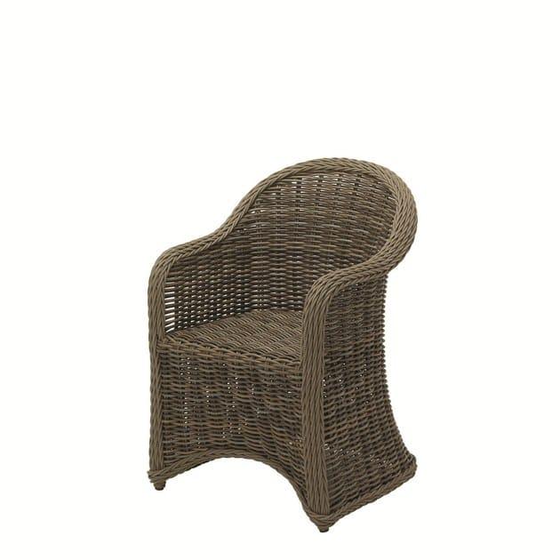 Garden chair with armrests HAVANA | Garden chair - Gloster