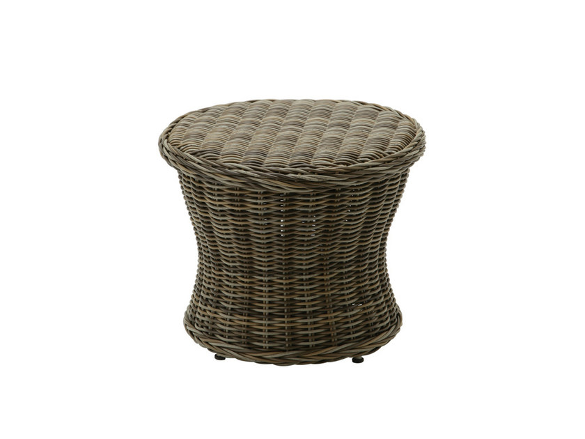 runder beistelltisch aus korbgeflecht kollektion havana by gloster design povl eskildsen. Black Bedroom Furniture Sets. Home Design Ideas
