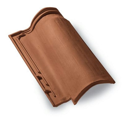 Bent roof tile COPPO DOMUS by MONIER