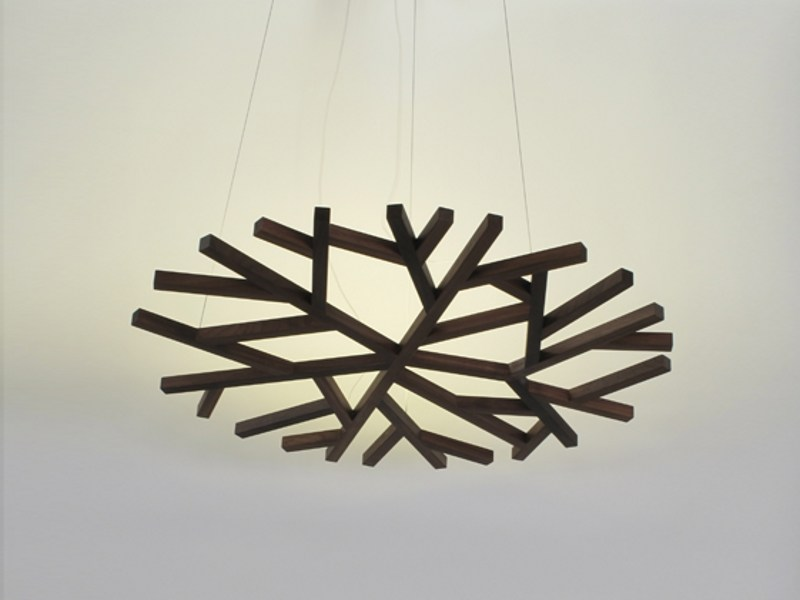 Indirect light pendant lamp CLAIRIERE - DIX HEURES DIX