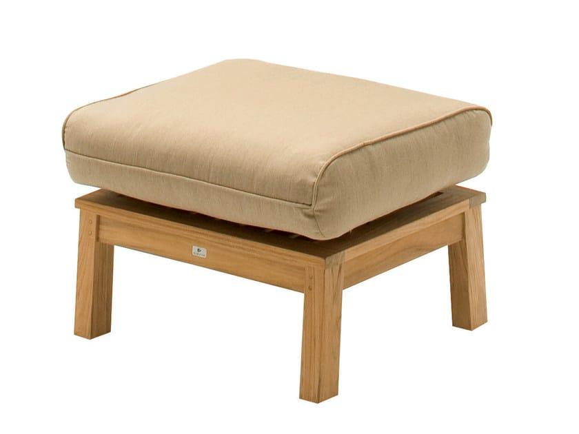 Garden footstool KINGSTON | Garden footstool by Gloster