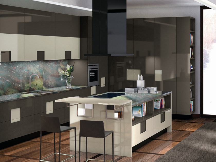 Lacquered kitchen carr 05 carr collection by ernestomeda - Cucine ernestomeda immagini ...