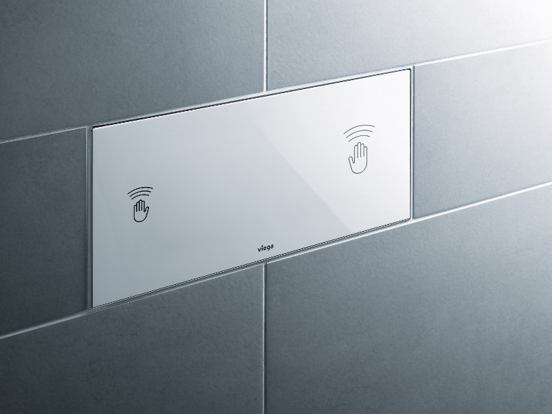Flush plate VISIGN FOR CARE - Viega Italia