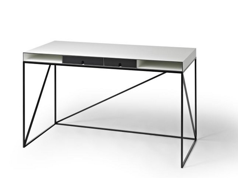 Schreibtisch Mit Bildergalerie : Schreibtisch mit schubladen wogg by design christophe marchand