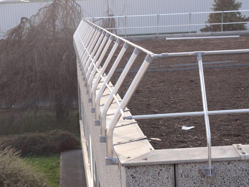 Aluminium balustrade ALLUKEMY SKY™ by SOMAIN ITALIA