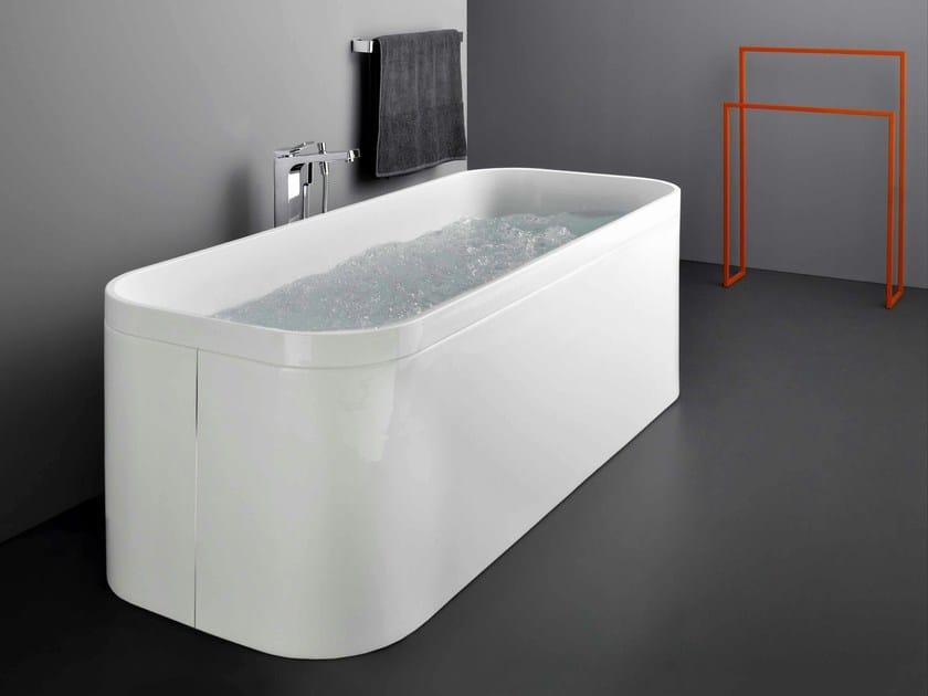 Vasca da bagno centro stanza in acrilico GEO 170X70 - Kos by Zucchetti