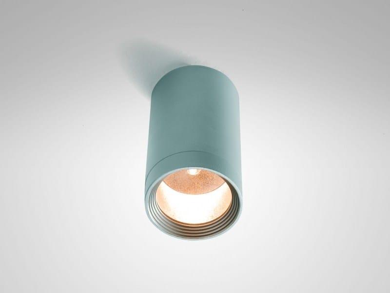 Adjustable aluminium ceiling lamp IN-OUT 1C - LUCIFERO'S