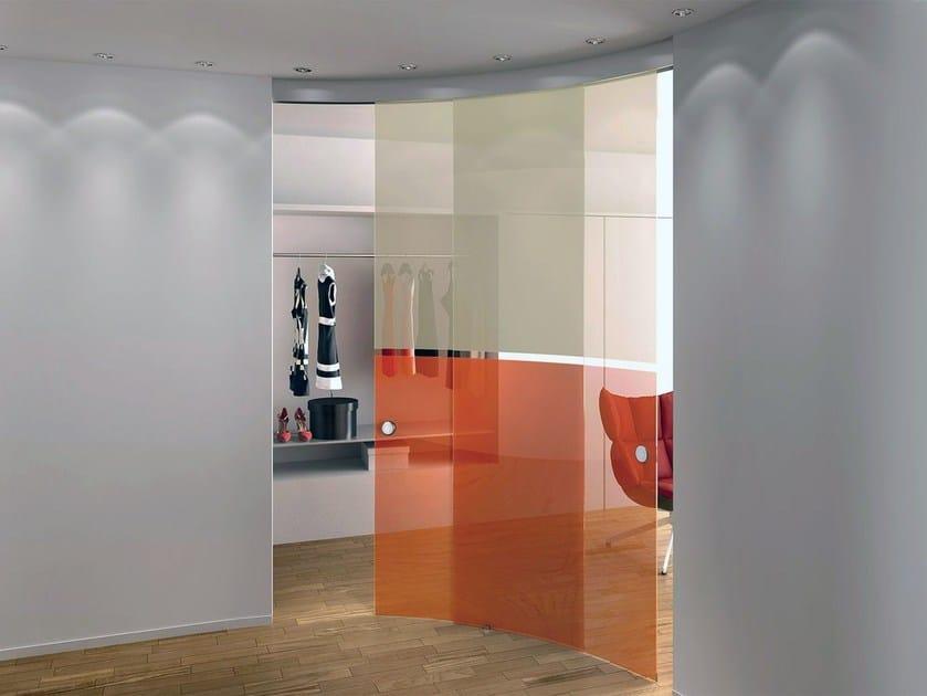 Porta scorrevole curva senza telaio gamma bi color casali - Casali porte scorrevoli prezzi ...