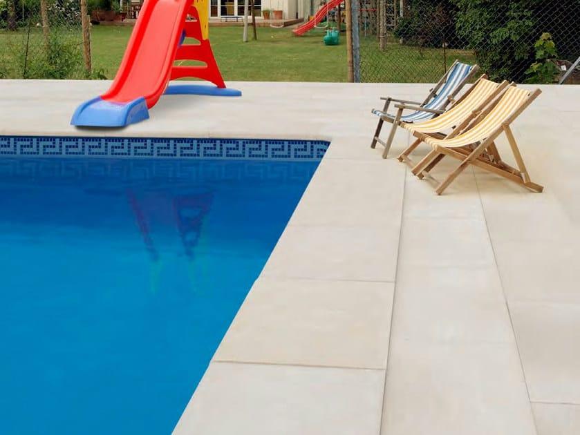 Baldosas de exterior de piedra natural borde para piscina - Baldosas para piscinas ...