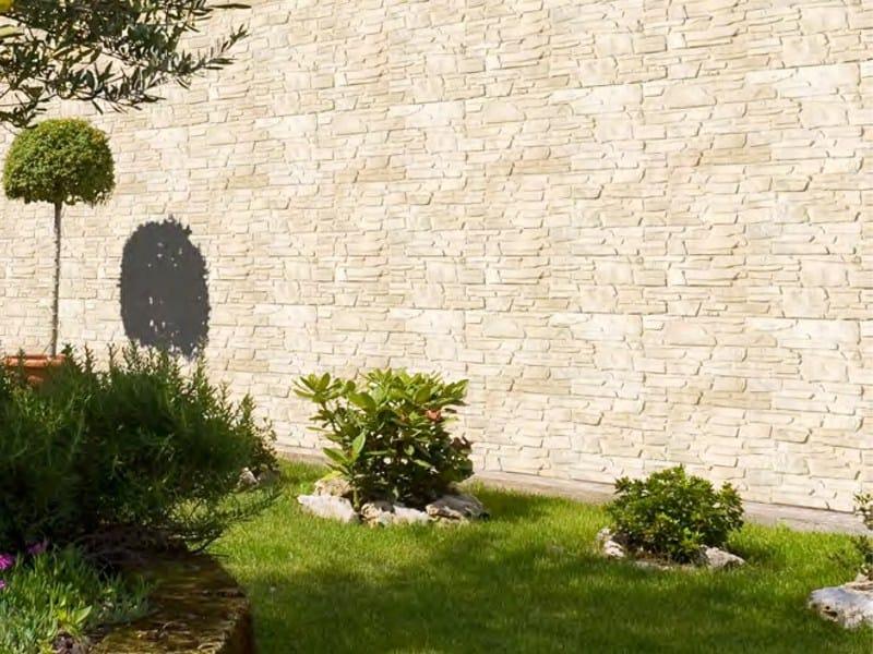 Revestimiento de fachada piedra artificial llicorella by - Fachadas de piedra artificial ...