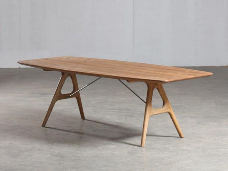 Rectangular wooden table TESA | Table - Artisan