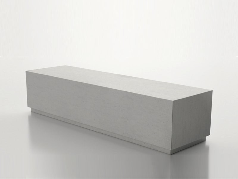 banc en b ton box collection basic by sit urban design. Black Bedroom Furniture Sets. Home Design Ideas
