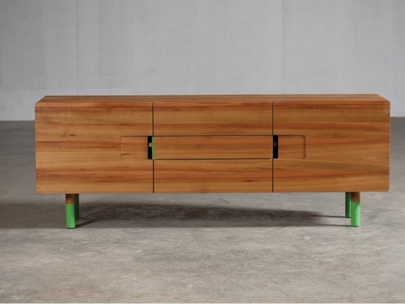 Wooden sideboard with doors SLY | Sideboard by Artisan