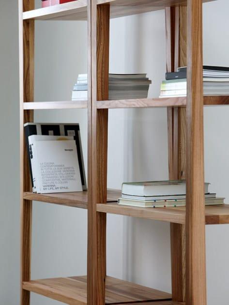 Scaffale in legno basic libreria artisan for Scaffali libreria in legno