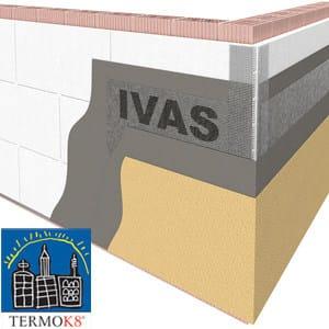 Isolante termoacustico TermoK8® CLASSICO - Ivas Industria Vernici - GRUPPO IVAS