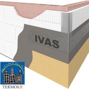 Exterior insulation system TermoK8® VENTILATO - Ivas Industria Vernici - GRUPPO IVAS