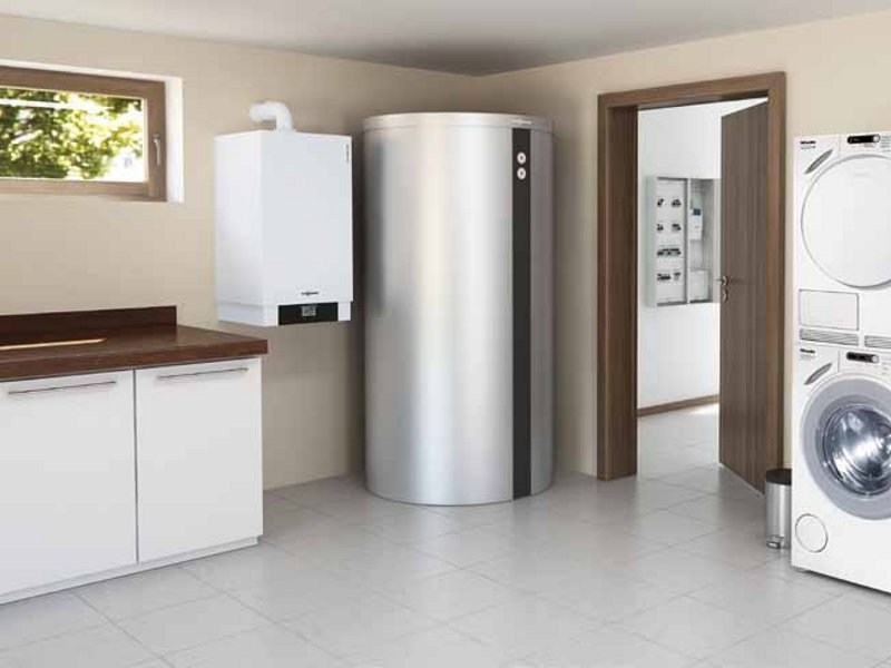 Chaudière à condensation VITOTWIN 300-W - VIESSMANN