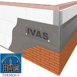 Exterior insulation system TermoK8® MODULAR D - Ivas Industria Vernici - GRUPPO IVAS