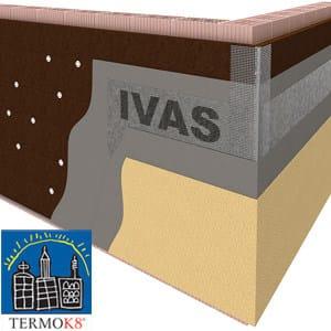 Exterior insulation system TermoK8® MINERALE SU - Ivas Industria Vernici - GRUPPO IVAS