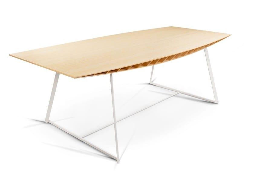 Bamboo dining table BEE | Table - La Maison Turrini