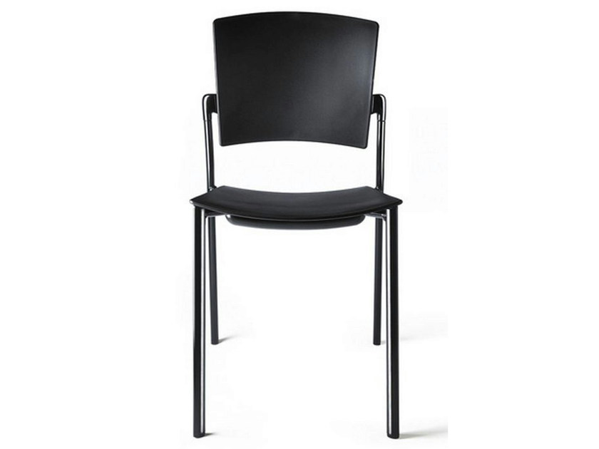 Stackable polypropylene chair EINA | Stackable chair - ENEA