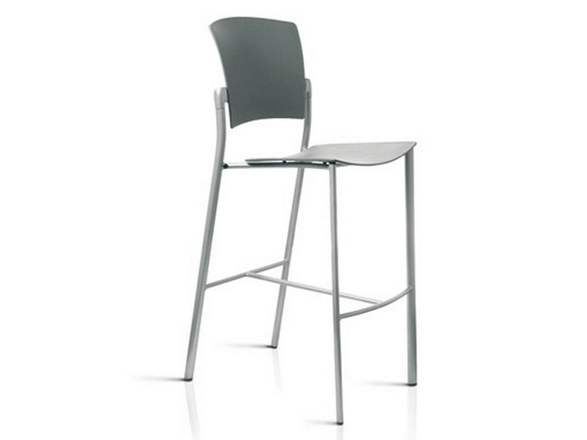 Counter stool with footrest EINA | Counter stool - ENEA
