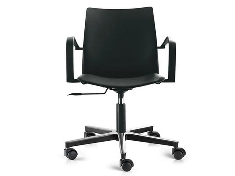 Swivel task chair with 5-Spoke base GLOBAL | Task chair - ENEA